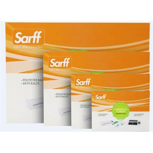 Sarff 125 Micron 85x115 Laminasyon Poşeti 100Ad. 15309018
