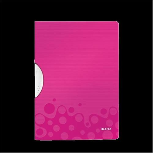 Leitz Active Wow Colorclip Dosya Metalik Pembe 41850023
