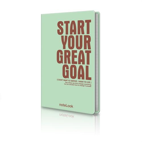 Scrikss Fairbooks Start Your Great Goal Multi Defter T002dftsyggmla
