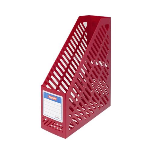 Bigpoint Plastik Kutu Klasör Kırmızı Bp19825