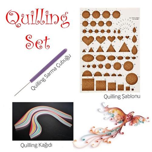 İdora Quilling Set