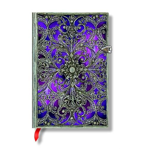 Paperblanks Defter Aubergine Mini Çizgisiz 2889-5