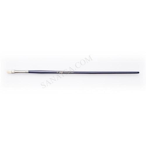 Pebeo 140F Serisi Doğal Beyaz Kıl Yassı Fırça No:8