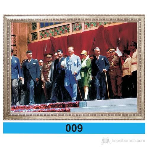 İnter 50x70 cm Varaklı Atatürk Portresi İNT-009