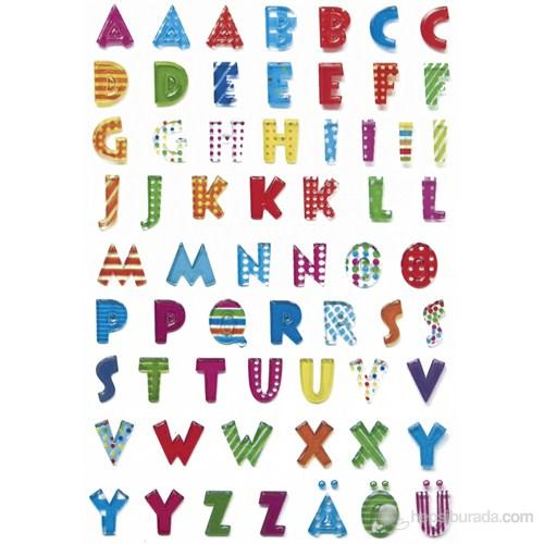 Herma Çocuk Etiketleri Renkli Harfler