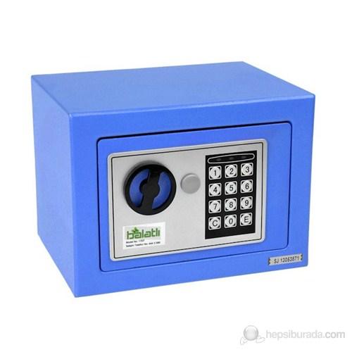 Elektronik Tuşlu Para Kasası - Mavi