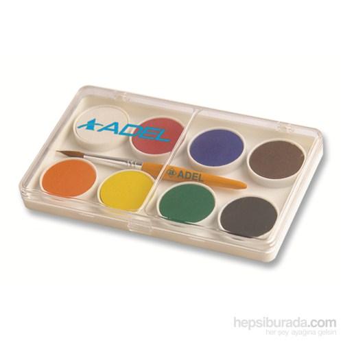 Adel Suluboya 8 Renk Küçük Boy Karton Kutu (2290911000)