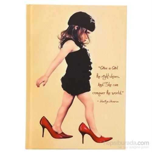 Deffter 64551-7 Unutulmayanlar / Girls And Shoes Defter