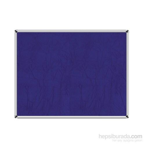 Akyazı 120x200 Duvara Monte Kumaşlı Pano (Mavi)