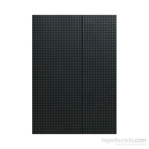 Paper-Oh 9001-4 Circulo A4 Çizgisiz Black On Grey Defter