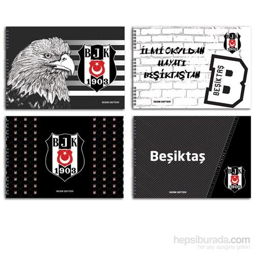Keskin 300215-64 Beşiktaş 25x35 cm Resim Defteri 15 Yaprak