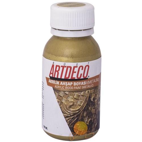 Artdeco Metalik Ahşap Boyası 120 ml.