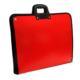 Proje Çantası Kırmızı Askılı Proje Çantası 35x50 cm