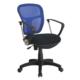 Adore VLT034 Comfort Ultra File Sırtlı Çalışma Koltuğu- Mavi