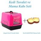 Flip Kedi Tuvalet Ve Mama Kabı Seti