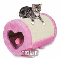 Trixie kedi tırmalama silindiri, ø27×39cm, pembe