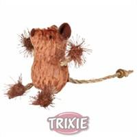 Trixie Kedi Oyuncağı, Fare, Kahverengi-Bej, 8 Cm