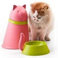 BuldumBuldum Pupp&Kitt Food Bowl And Storage - Mama Kutusu Ve Kabı - Beyaz Köpek