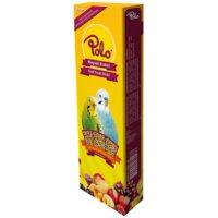 Polo Meyveli Üçlü Muhabbet Kuşu Krakeri