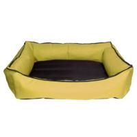 Bronza Su Geçirmez Kedi-Köpek Yatağı No: 3 70x80x15 Sarı