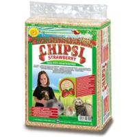 Chipsi Plus Çilek Aromali Kemirgen Talaşı 60 Lt