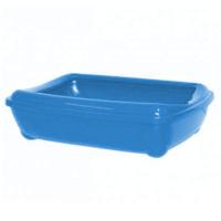 Happy Paws Açık Kedi Tuvaleti Mavi 50 X 38 X 15Cm