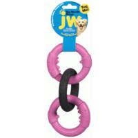 Jw Üçlü Halka Köpek Çiğneme Ve Eğitim Oyuncağı (L) 14X38 Cm