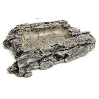 Komodo Habitat Rock Sürüngen Yem Kabı Small 17Cm