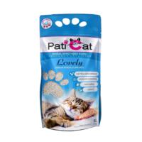 Paticat Lovely Beyaz Sabun Kokulu Kedi Kumu (Kalın Taneli) - 10 Lt