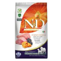 N&D Pumpkin Tahılsız Bal Kabaklı, Kuzu Etli Ve Yaban Mersinli Orta Ve Büyük Irk Yetişkin Köpek Maması 12 Kg