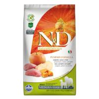 N&D Pumpkin Tahılsız Bal Kabaklı, Yaban Domuzu Etli Ve Elmalı Orta Ve Büyük Irk Yetişkin Köpek Maması 12 Kg