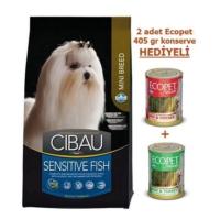Cibau Balıklı Hassas Mini Köpek Maması 2,5 Kg