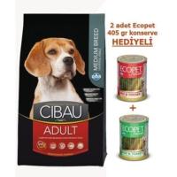 Cibau Tavuklu& Balıklı Yetişkin Medium Köpek Maması 2,5 Kg