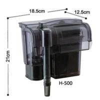 Dophin H500 Askılı Filtre Şelale Filtre 600 L/H