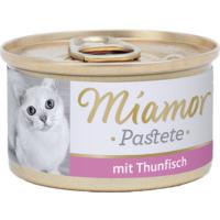 Miamor Pastete Ton Balıklı Kedi Konserve Mama 85 gr