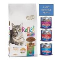 Reflex 15 Kg MultiColor Adult Cat Food Tavuklu, Renkli Taneli Yetişkin Kedi Maması