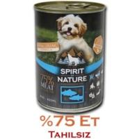 Spirit Of Nature %75 Etli Tahılsız Balıklı Köpek Konservesi 415 Gr