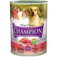Champion 24 Adet Av Hayvanlı Köpek Konservesi