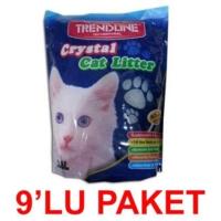 Trendline Silika Kristal Kedi Kumu 3,6 Lt. (9'lu Paket)