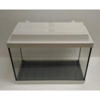 Kanki Pet Akvaryum 50X23X34 Cm Tam Kapaklı Düz Beyaz 39 Litre