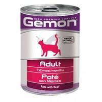 Gemon Yeni Konserve Yetişkin Kedi Sığır Etli Ezme 400 Gr