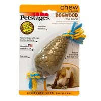 Petstages Dogwood Pine Cone Medium (Bitmeyen Kemik, Köpek Oyuncağı, Diş Kaşıyıcı)