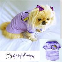 Kitty By Kemique Köpek Tişört Köpek Gömlek L