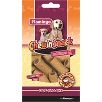Karlie-Flamingo Chew'N Snack Pipes 150Gr.
