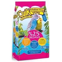 Quik Muhabbet Kuşu Yemi 1 Kg