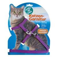 Katzen Kedi Göğüs Tasması Mor