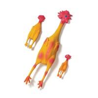 Karlie Lateks Tavuk Oyuncak Seslı