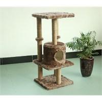 Pawise Kedi Yuvalı Yüksek Tırmalama 45*45*108