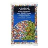Marina Renkli Çakıl Karışık 2 Kg