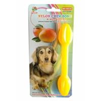 Percell Plastik Mango Aromalı Köpek Kemiği 15 Cm